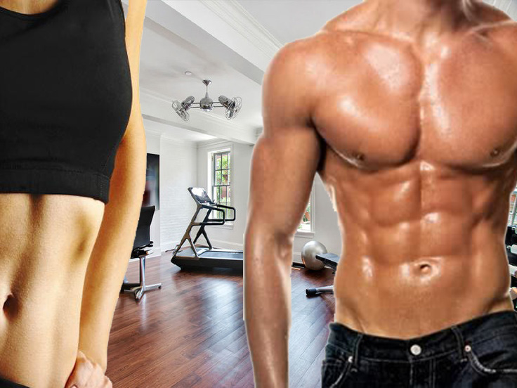 Workout Routines For Men Women Home Bodybuilding Healthy Kinfolk