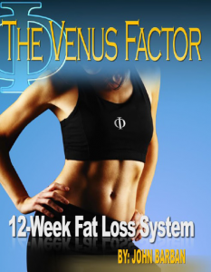 venus factor 12 week weight loss system